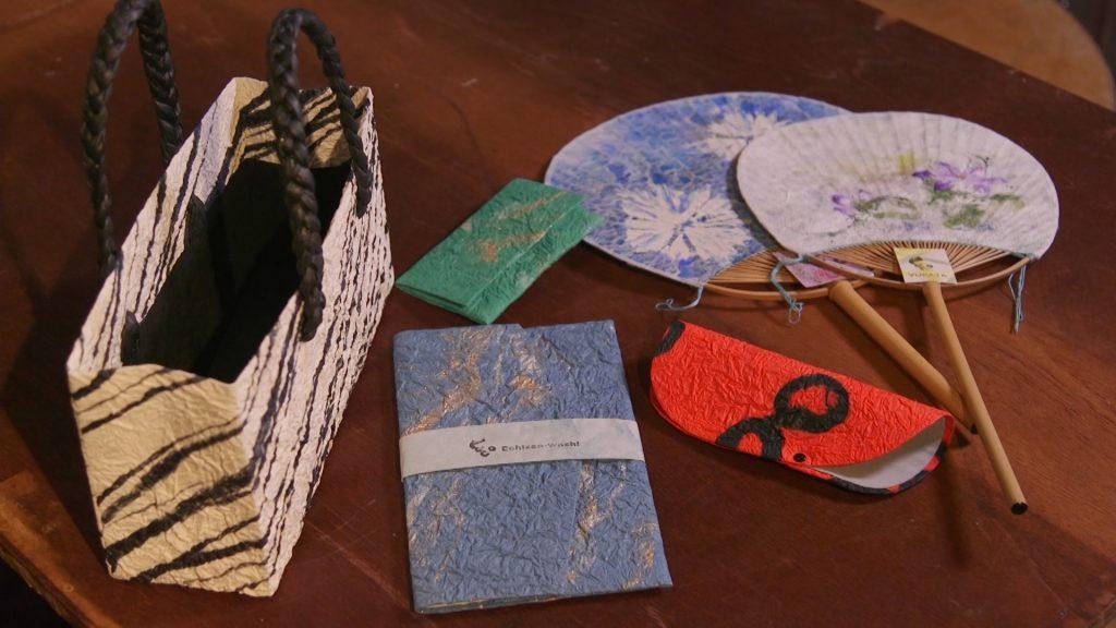 長田製紙所の和紙小物