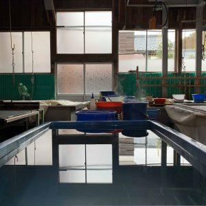 長田製紙所工場内の様子