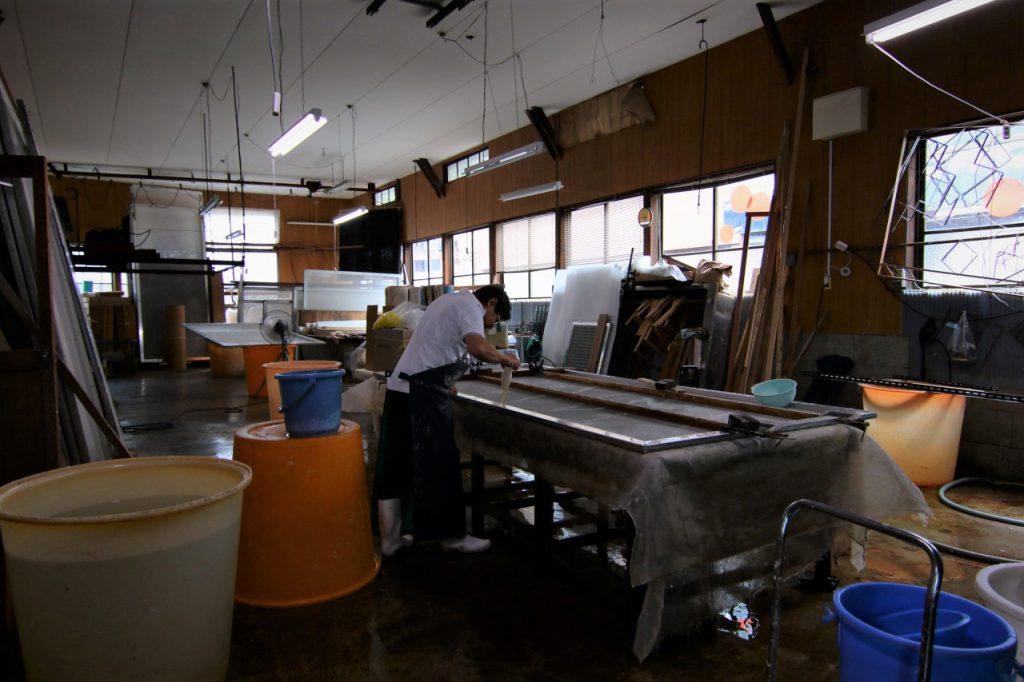 長田製紙所工場